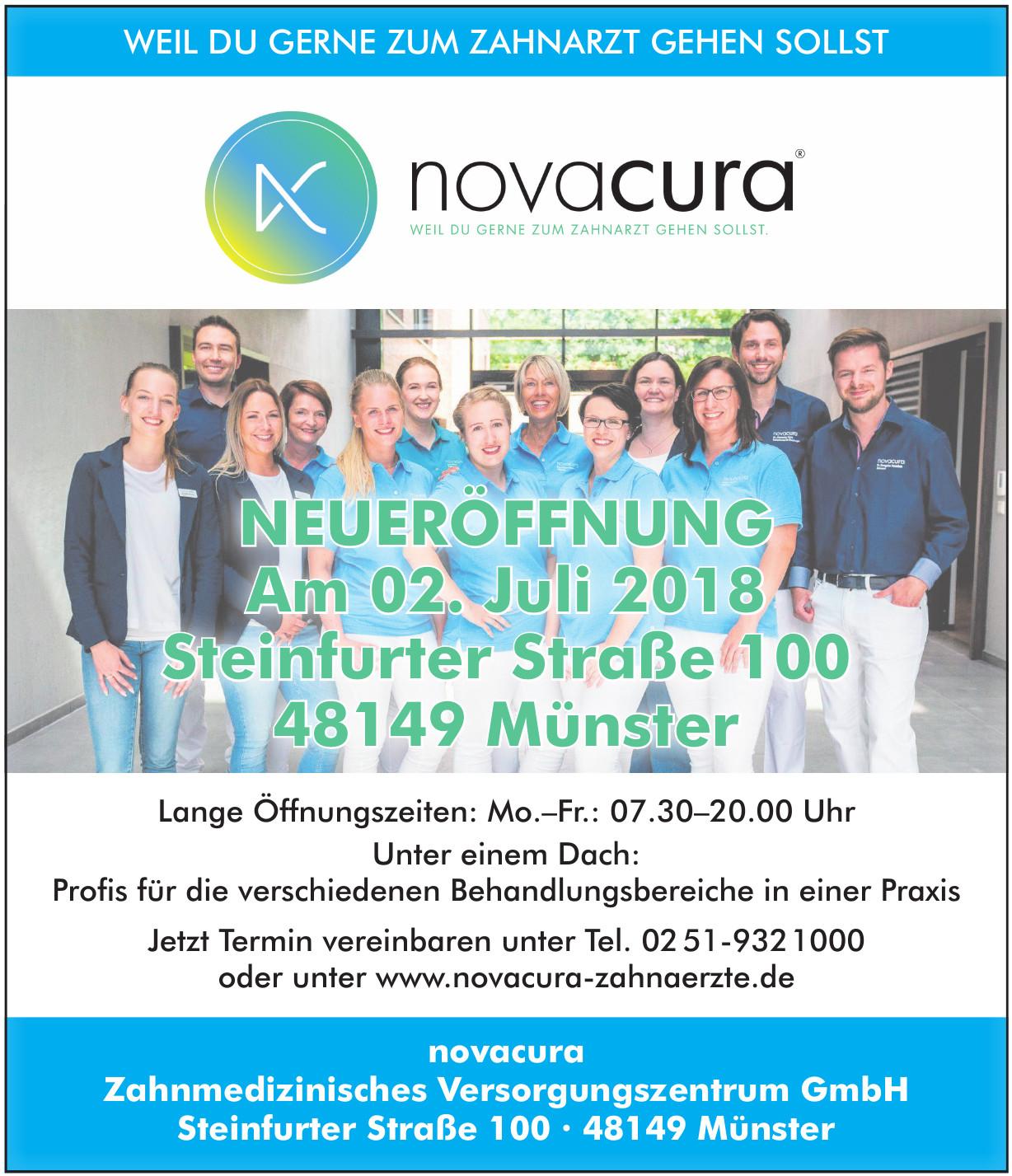 novacura Zahnmedizinisches Versorgungszentrum GmbH