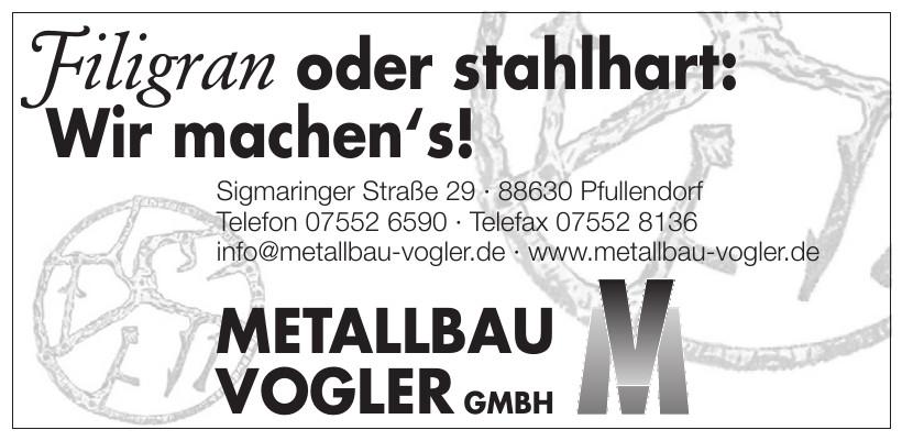 Mettallbau Vogler GmbH