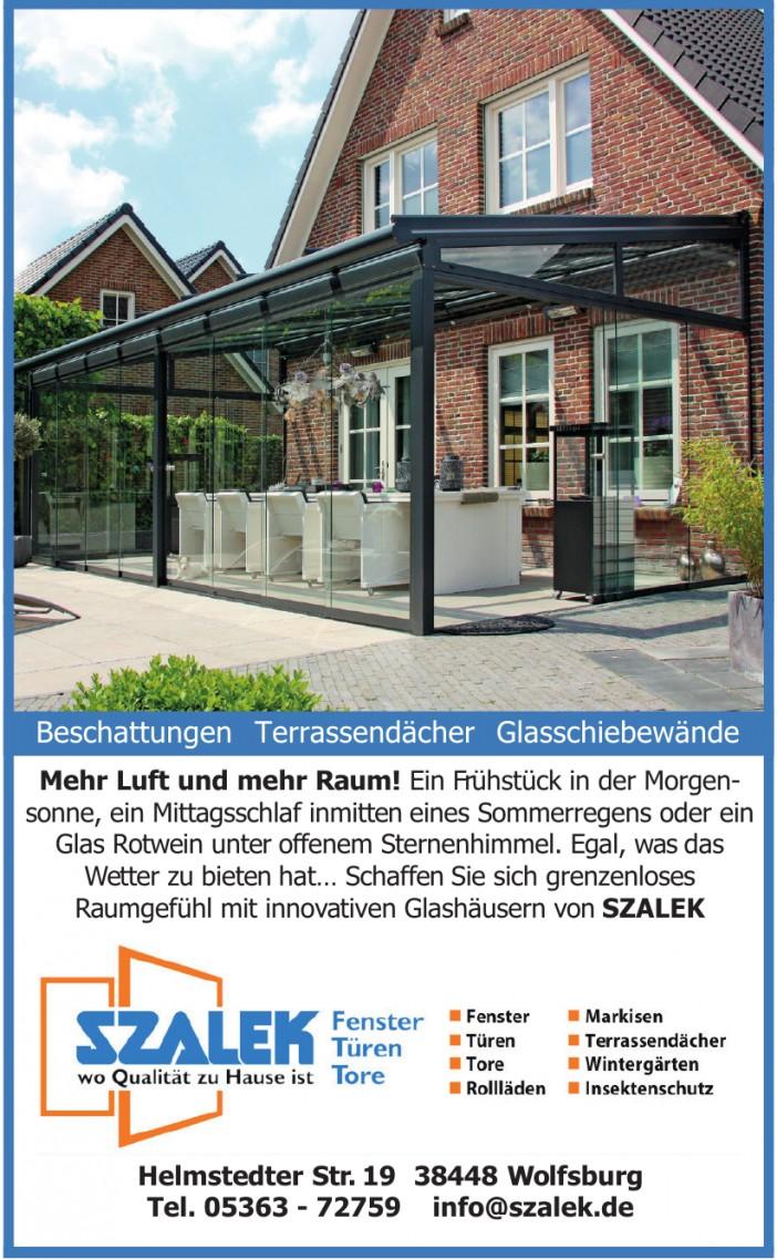 Szalek - Fenster - Türen - Tore