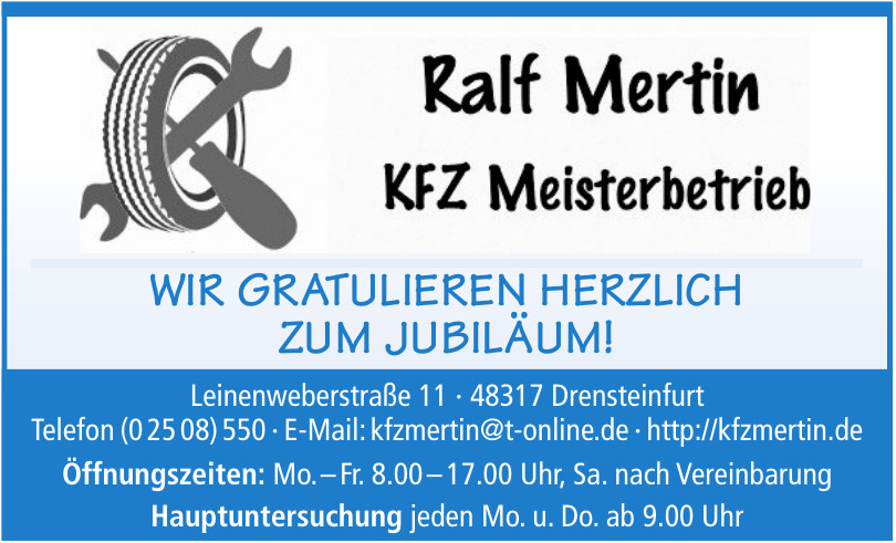 Ralf Mertin KFZ Meisterbetrieb