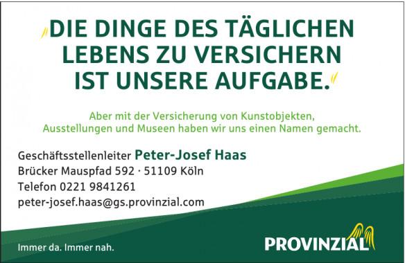 Provinzia Peter-Josef Haas