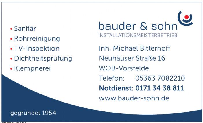 Bauder & Sohn