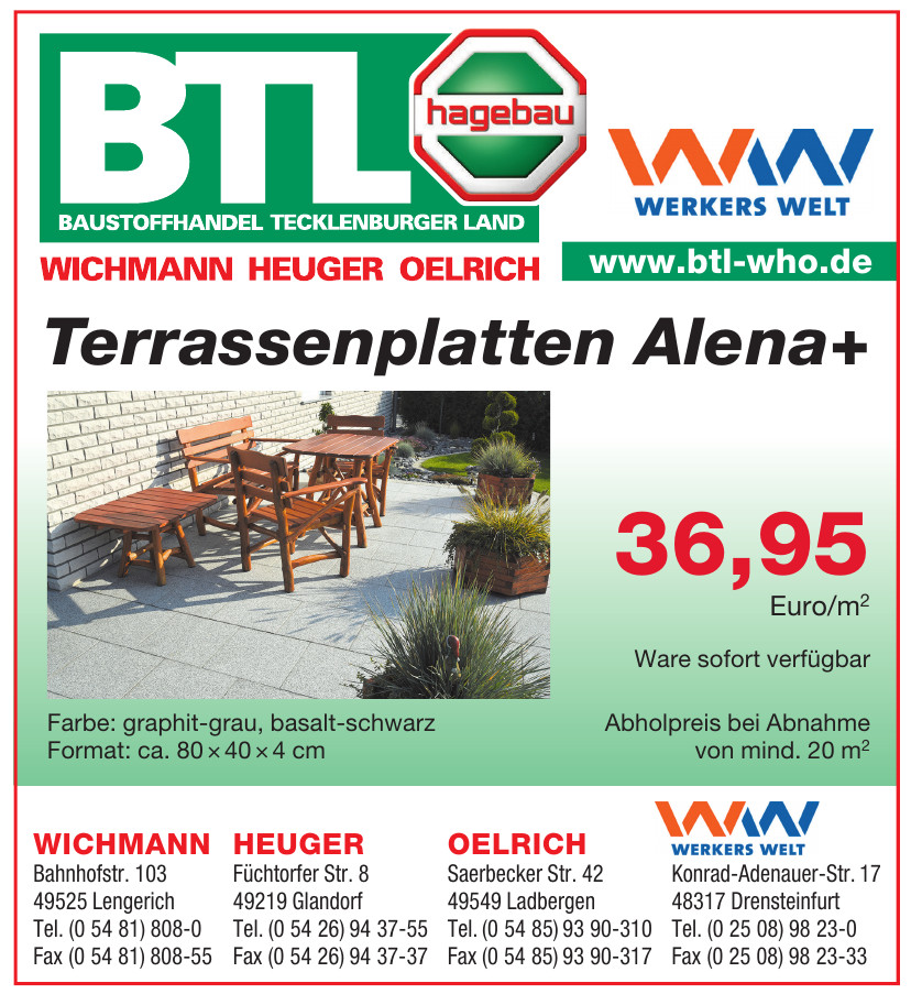 Baustoffhandel Tecklenburger Land