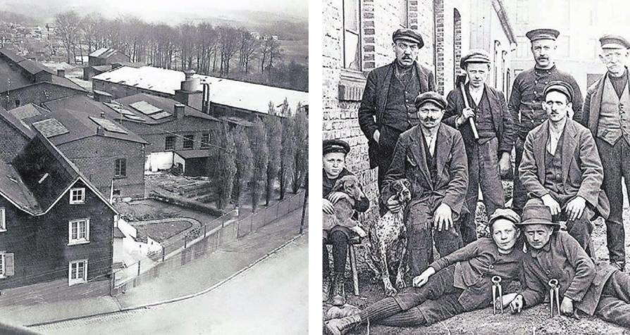 Im Keller eines Fachwerkhauses begann Carl Gustav Putsch mit der Zangen-Herstellung. Bald schon hatte er viele Mitarbeiter, die in Handarbeit die Zangen schmiedeten. Heute arbeiten in Wuppertal 1100 Mitarbeiter für Knipex in ausgedehnten Werkhallen und Büros.Fotos: Knipex