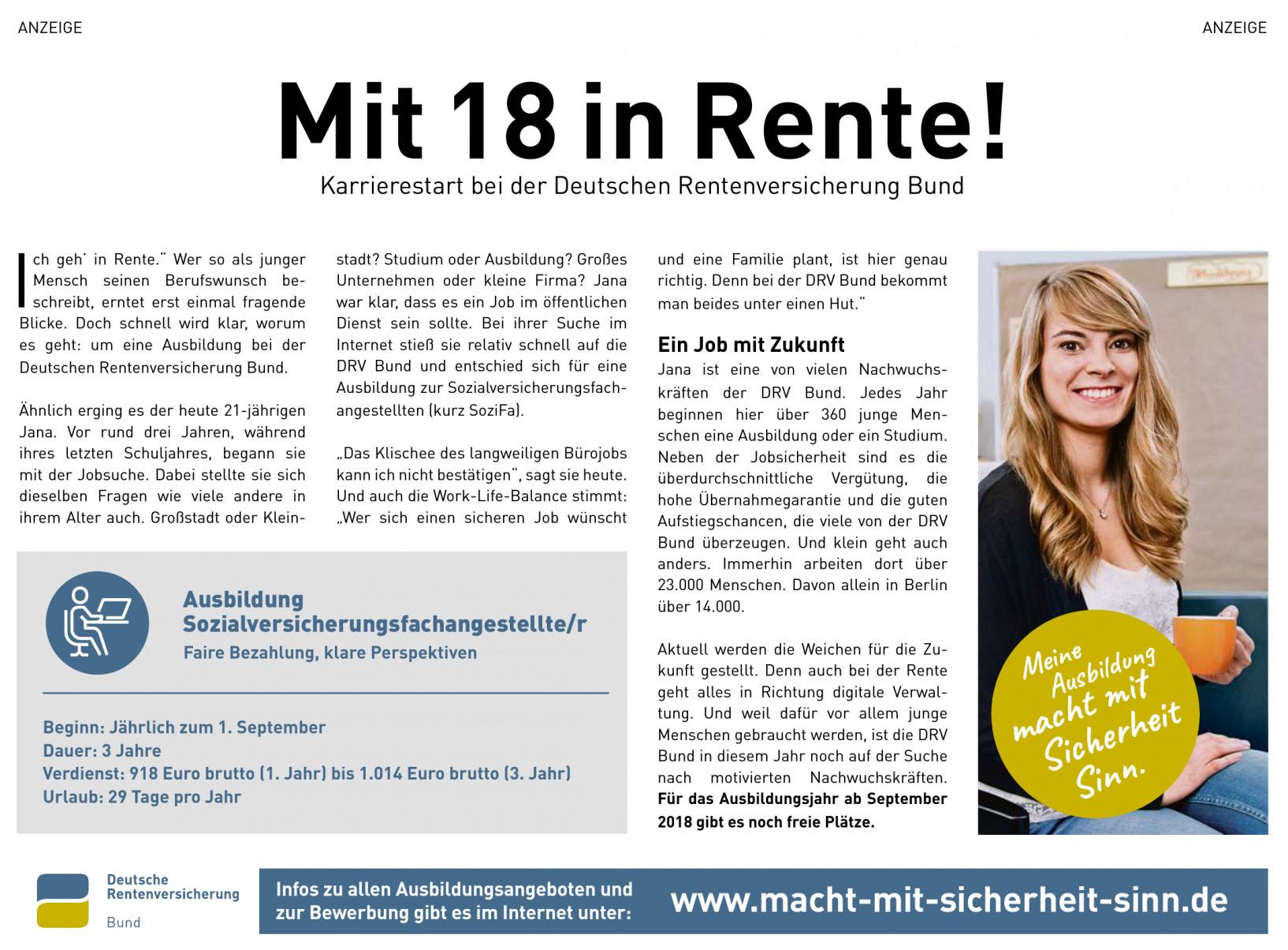 Deutschen Rentenversicherung Bund
