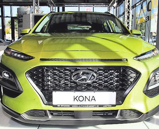 Mit einem Premierenfest wird das jüngste Mitglied der Hyundai- Familie gefeiert – der Lifestyle SUV Kona.