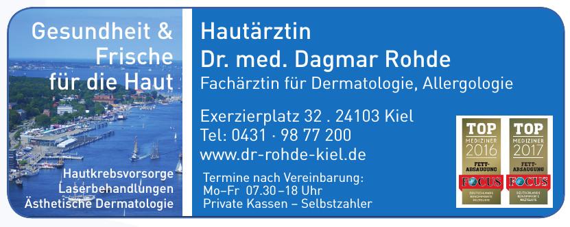 Hautärztin Dr. med. Dagmar Rohde