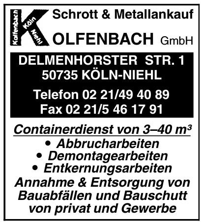 Kolfenbach GmbH