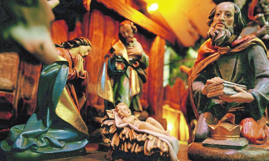 Die Idee von der Futterkrippe als Geburtsort Jesu lässt sich bereits im Frühchristentum nachweisen.