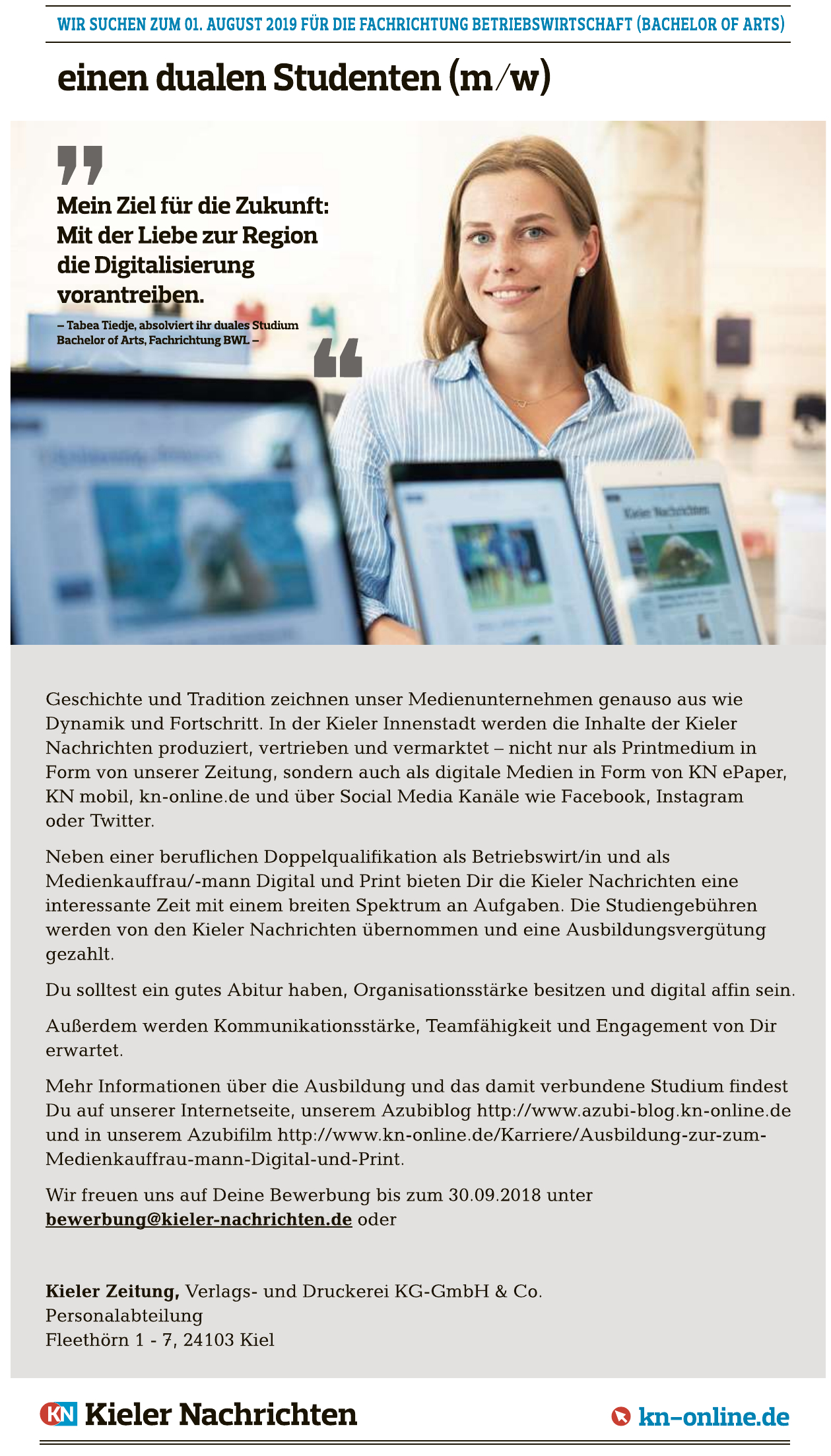 Kieler Zeitung Verlags- und Druckerei KG-GmbH & Co.