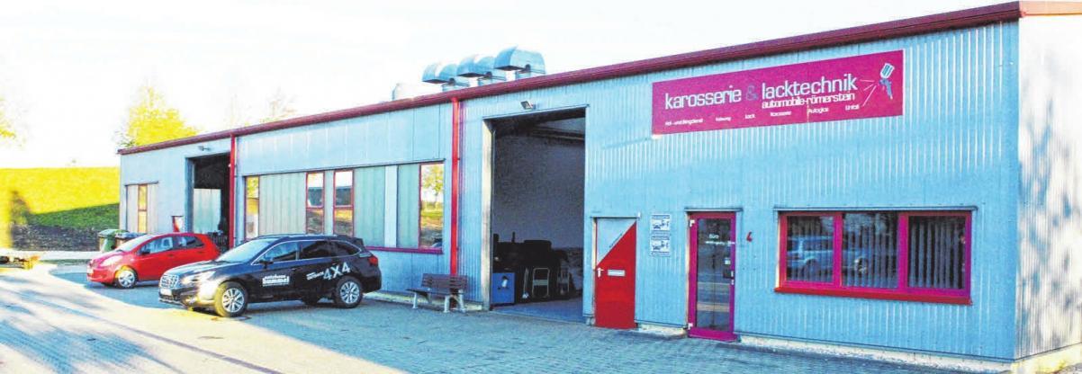 Karosserie & Lacktechnik in Böhringen. FOTO:SU