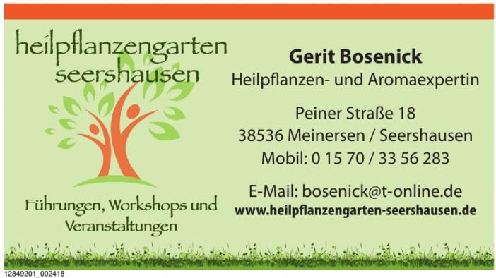 Gerit Bosenick Heilpflanzen- und Aromaexpertin