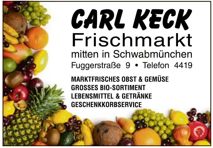 Carl Keck Frischmarkt