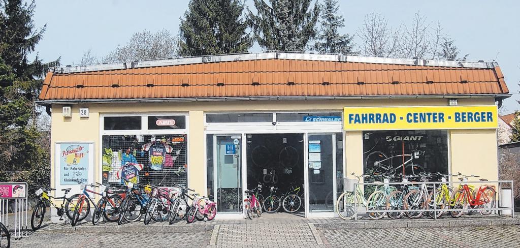 Seit über 20 Jahren kompetenter Ansprechpartner in Sachen Fahrrad - das Fahrrad-Center Berger! Foto: mes