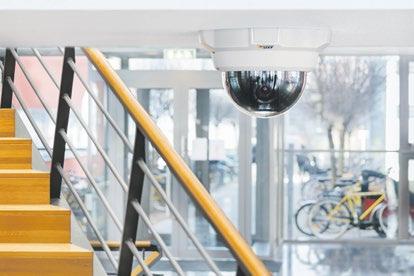 Netzwerk-Dome-Kameras sind einfach zu installieren und verfügen über intelligente Funktionen wie Bewegungserkennung
