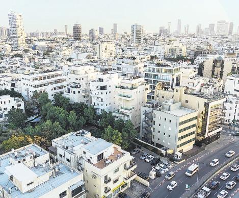 """Die """"Weiße Stadt"""" in Tel Aviv. Das Viertel zählt zum Unesco-Welterbe. Foto: dpa"""