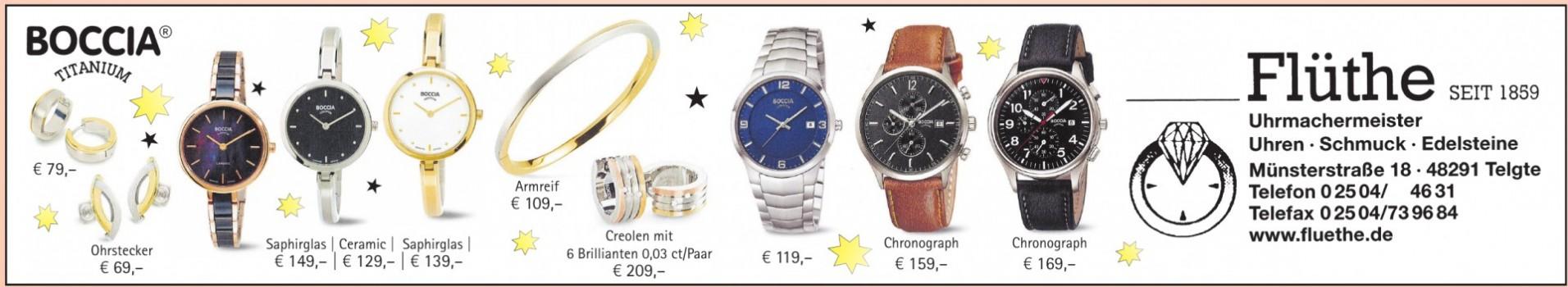 Uhrmachermeister Flüthe
