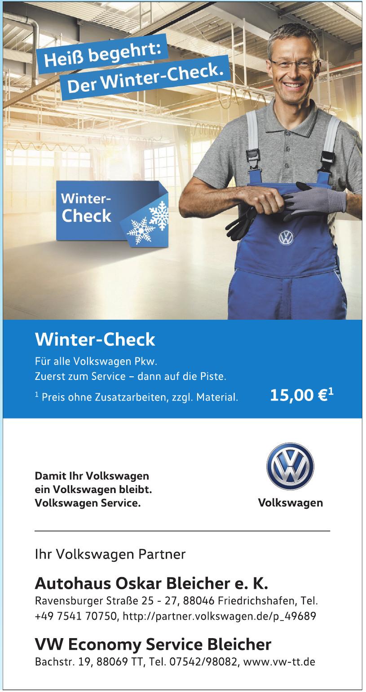 Volkswagen Economy Service Bleicher