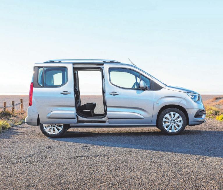 Der Opel Combo Life ist ein echtes Platzwunder.