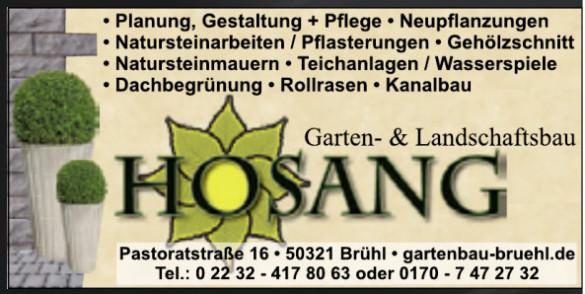 Garten- und Landschaftsbau Hosang