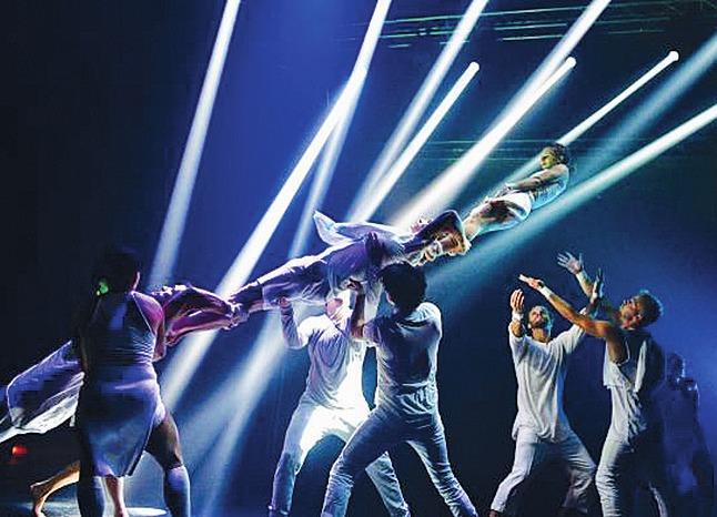 "Loser(s) Cirque Company mit ""Kolaps"".© Künstler"