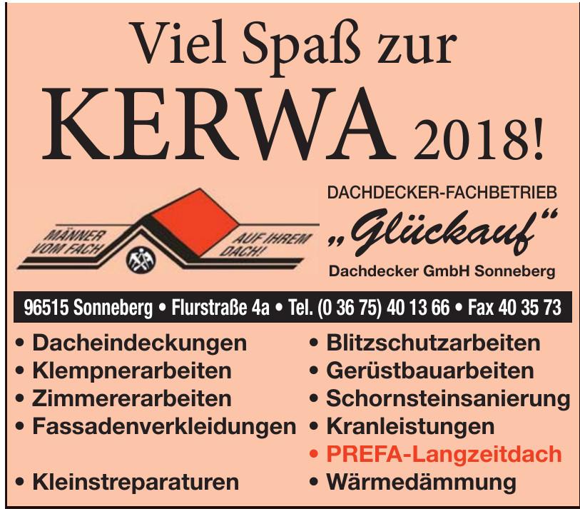 Glückauf Dachdecker GmbH Sonneberg