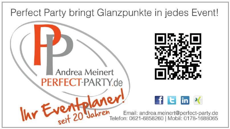 PP Andrea Meinert Perfect-Party.de