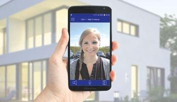 Mit der MxBell bietet Mobotix als Ergänzung zum MxDisplay+eine mobile Gegenstelle für Mobotix IP-Video-Türstationen