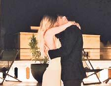 Glamourpaar: Dortmunds Mario Götze und Ann-Kathrin Brömmel haben sich verlobt.