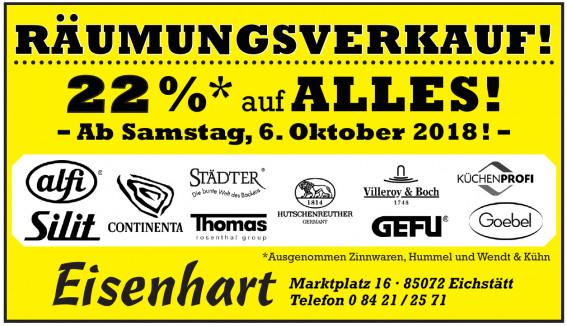 Eisenhart - Das Geschäft für guten Einkauf!