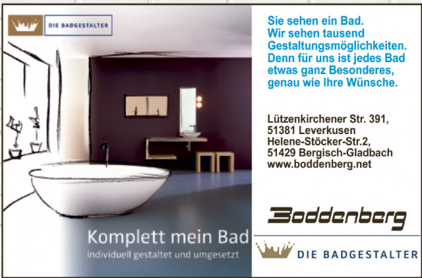 Boddenberg – Bad-Design und Heizungstechnik
