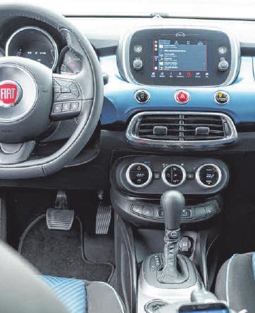 Fiat 500X mit maßgeschneiderten Ausstattungspaketen.