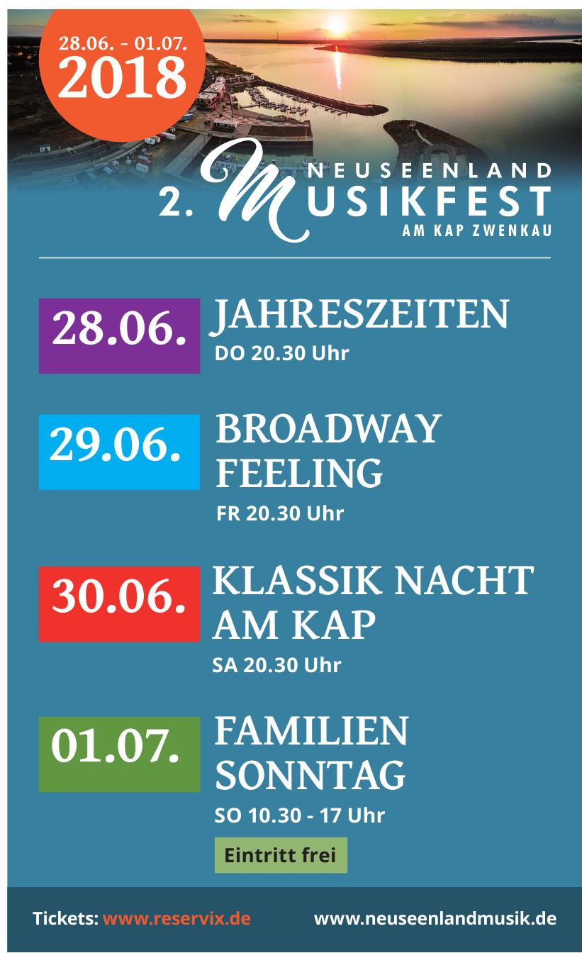 2. Neuseenland Musikfest