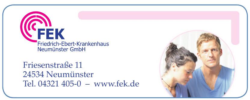 FEK Friedrich-Ebert-Krankenhaus Neumünster GmbH