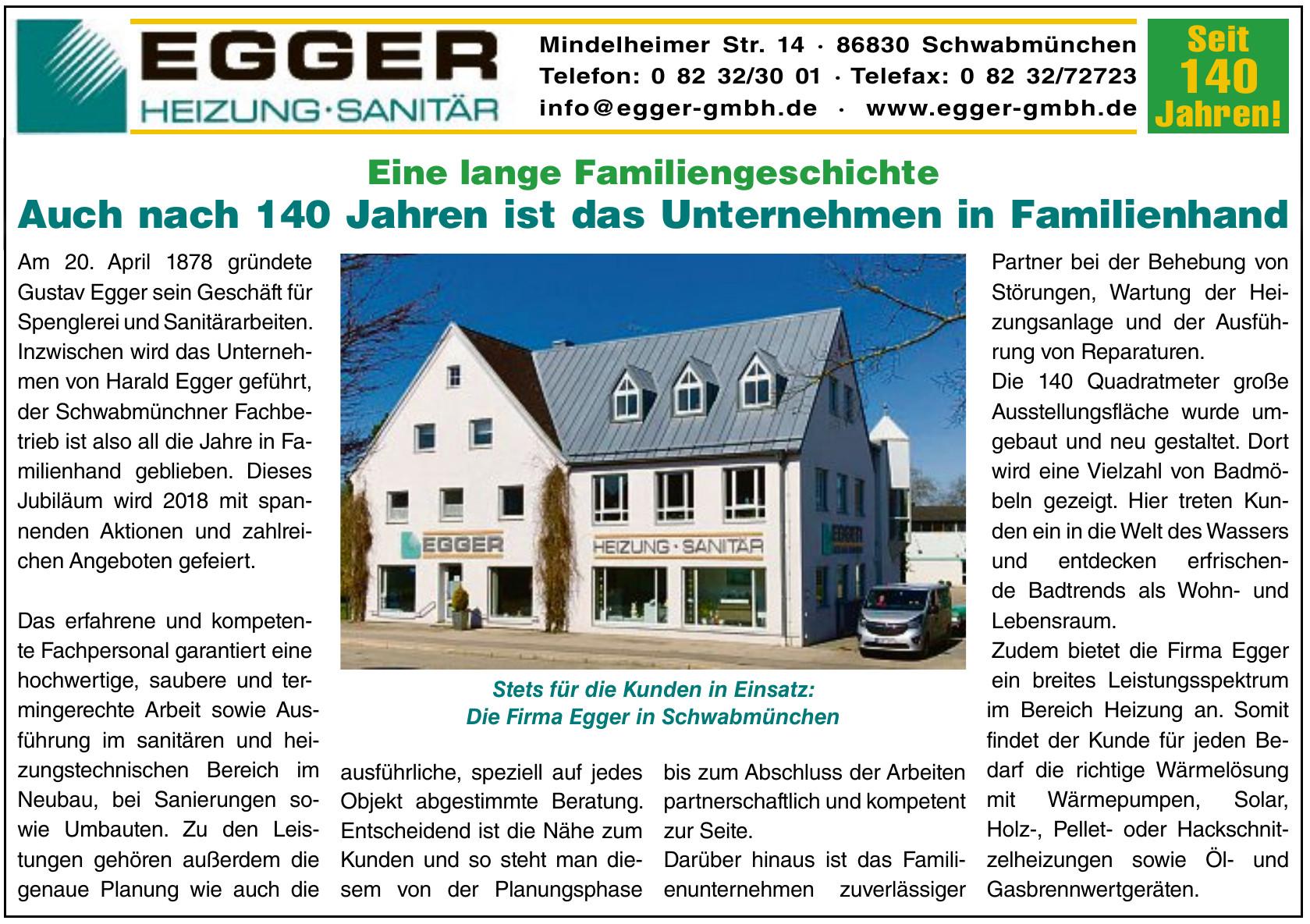 Egger Heizung - Sanitär