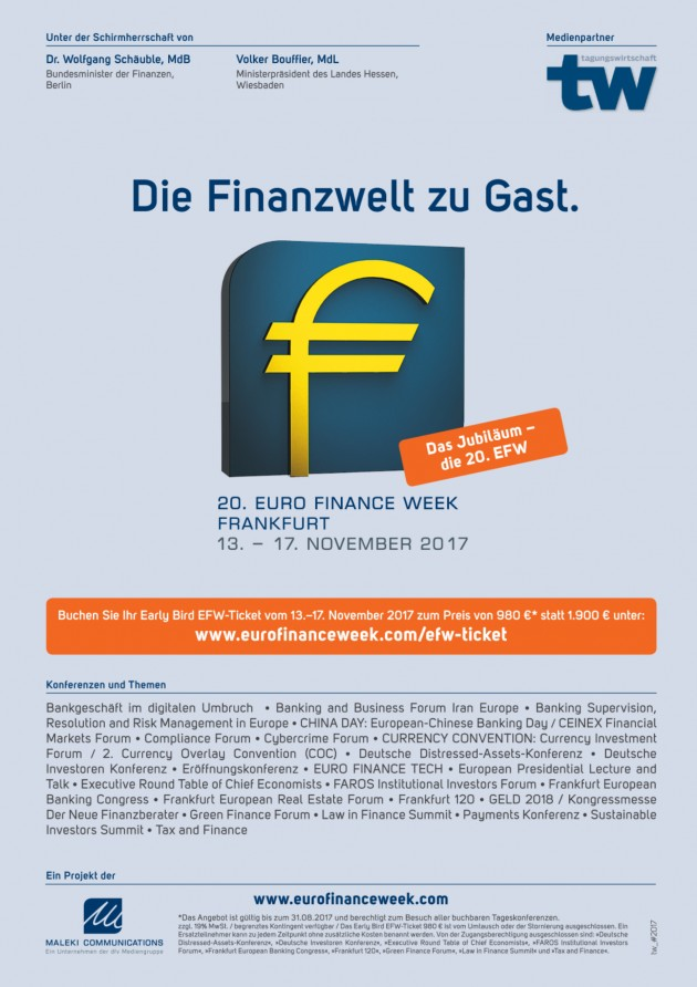 20. EURO FINANCE WEEK