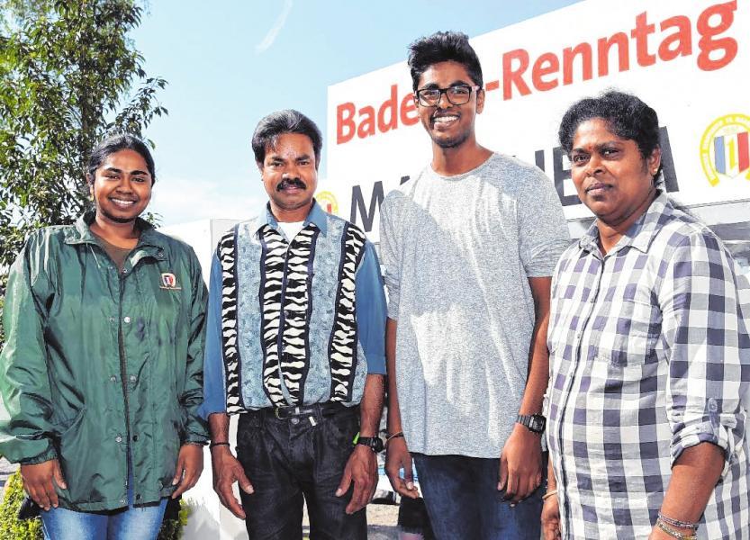 Fleißige Arbeiter im Hintergrund: die Familie Rajendram. BILD: BRV/THOMAS HENNE