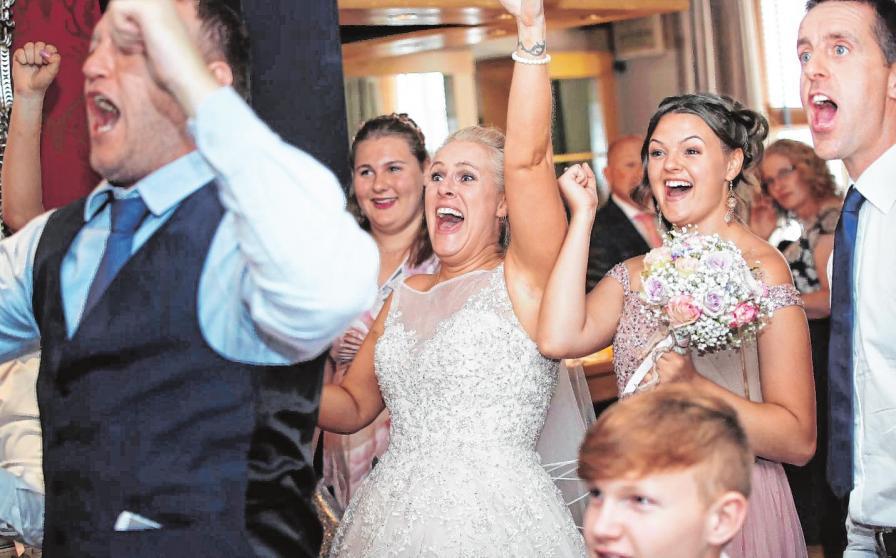 Kennenlernspiele auf der Hochzeit