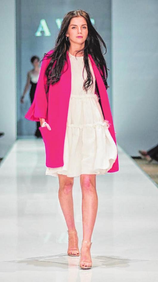 Kollektionspräsentation im Bildungsgang Modedesign