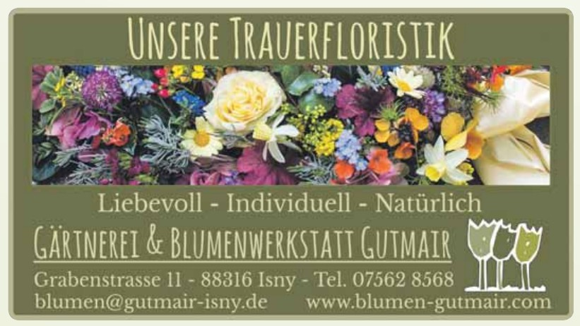 Gärtnerei & Blumenwerkstatt Gutmair