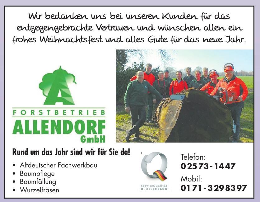 Forstbetrieb Allendorf GmbH
