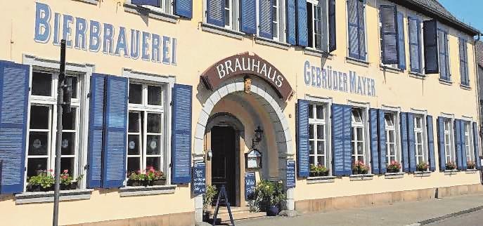 Die älteste Privatbrauerei der Pfalz