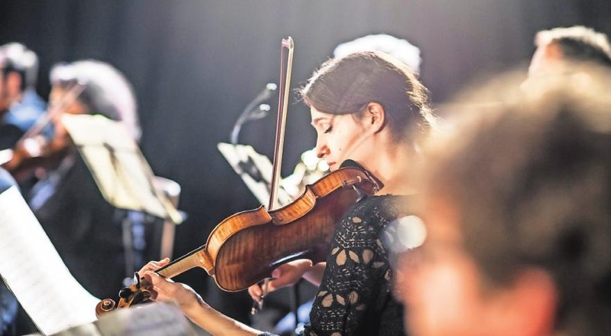 Salonorchester Kupfersalon Foto: Enrico Meyer