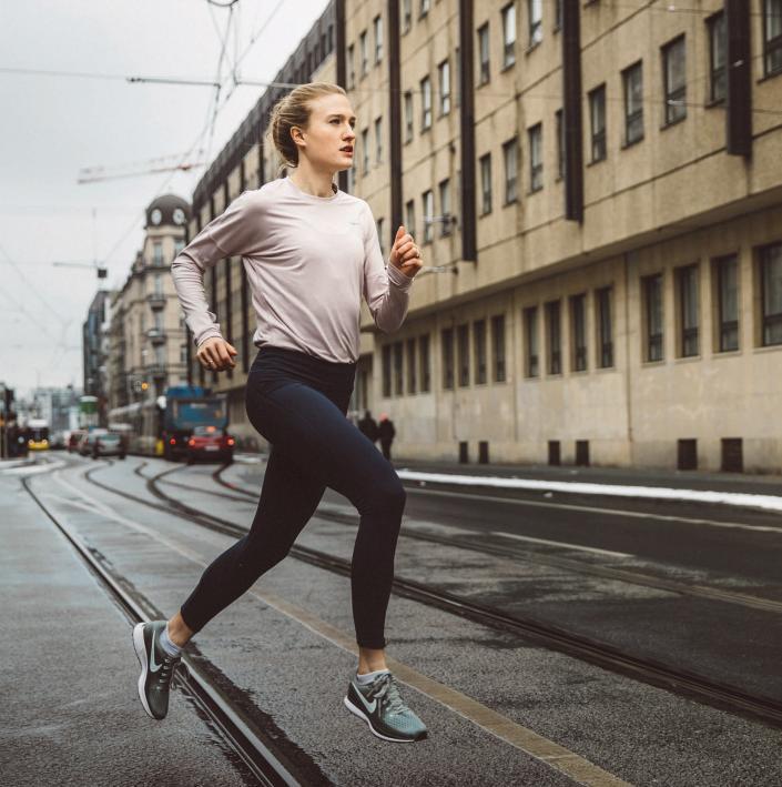 Sie wohnt, studiert und läuft in Mitte: Caterina Granz zwischen Bachelor und Wettkampf