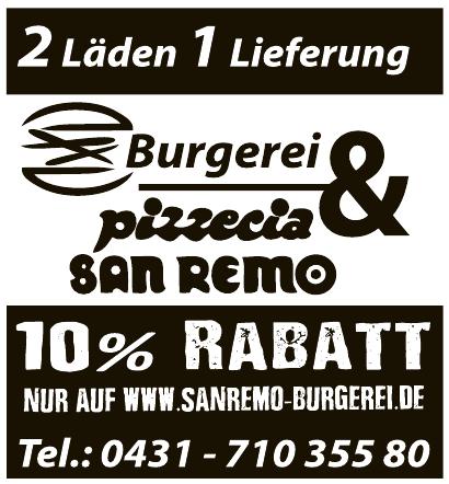 Burgerei & Pizzeria San Remo