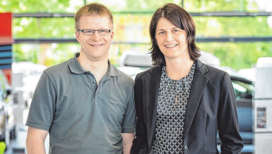Jörg Rapp und Andrea Rapp-Kübler.FOTOS: PRIVAT