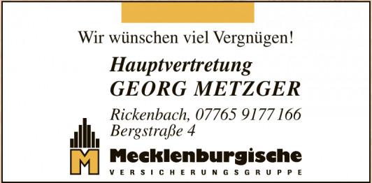 Hauptvertretung Georg Metzger