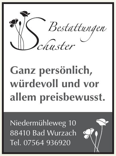 Bestattungddienst Schuster
