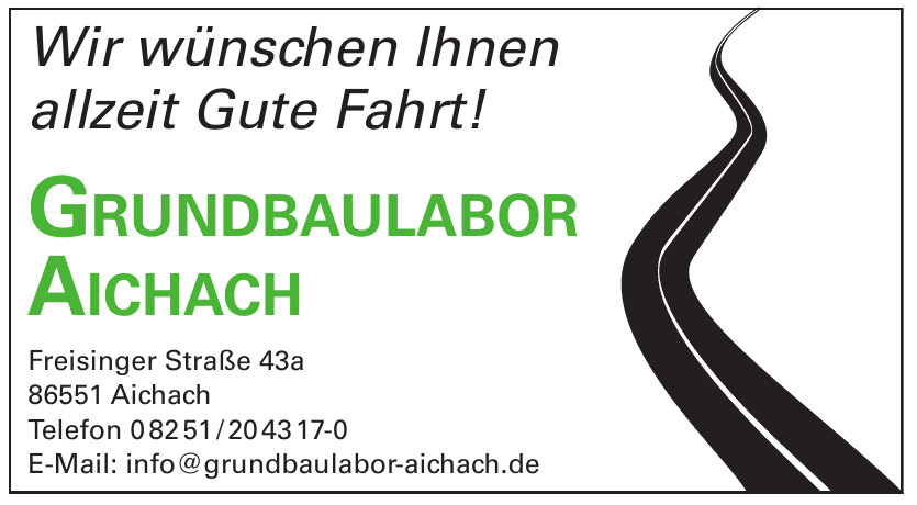 Grundbaulabor Aichach