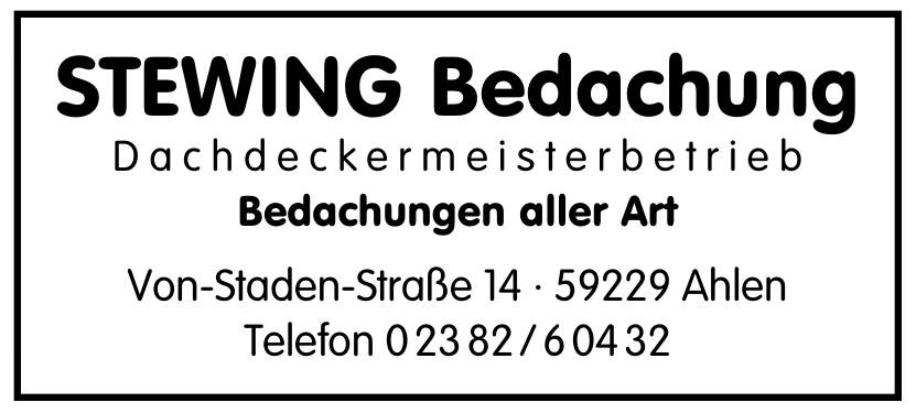 Stewing Bedachung Dachdeckermeisterbetrieb